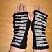 Piano Fingerless Gloves pattern