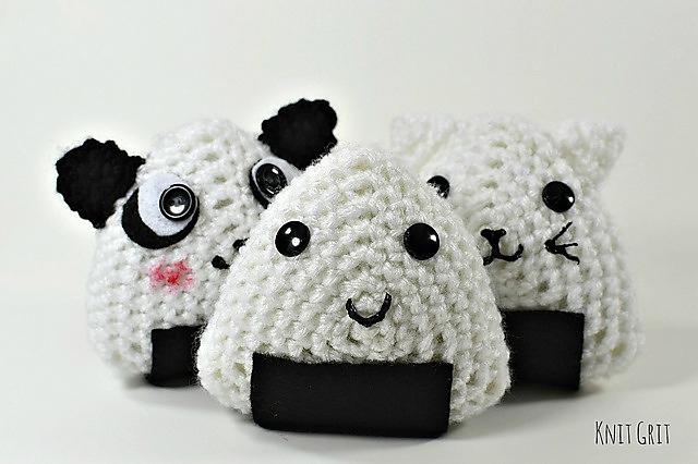 HandmadeKitty: FREE Onigiri Couple Amigurumi Crochet pattern by ... | 426x640