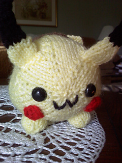 Amigurumi - Pikachu for CrochetGO! PokemonGo! | 320x240