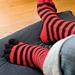 Chaussettes à doigts pattern