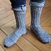 Yin yang yoga socks pattern