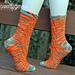 Beach Ball Socks pattern