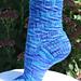 Caribbean Twist Socks pattern
