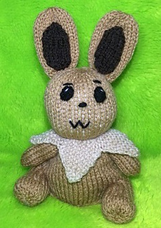 Eevee from Pokemon inspired choc orange cover or 20 cms toy KNITTING PATTERN