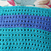 Holes and Ridges Knitted Dishcloth pattern