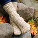 Fireside Glow Socks pattern