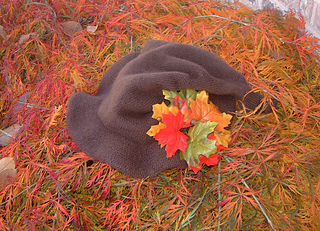 woodland witch hat outside