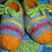 Toasty Toes Slippers pattern