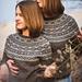 Frosty Flowers Sweater pattern