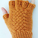 Woven Cable Fingerless Gloves pattern