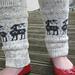 Reindeer Legwarmers pattern