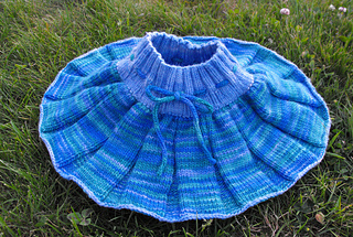 Lily's skirty fanned out