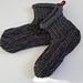 Easy Bottom Up Slippers pattern