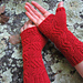 Carved Lines Armwarmers pattern
