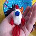 Mini Knitted Rocket Ship pattern