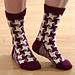 Swirling Star Socks pattern
