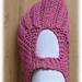 Pocketbook Slippers pattern