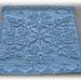 Snow Crystal Cloth pattern
