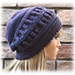 Ruched Hat pattern