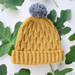 The Wave Beanie pattern