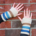 Gingersnap Ribbed Gloves pattern