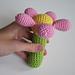 Flower rattle pattern