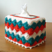 Catherine Wheel Tissue Box Cover pattern