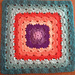 """Four 12"""" Shell Stitch Granny Square Variations pattern"""