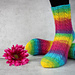 Twisted Left Socks pattern