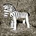 Zebra ispireret af Kay Bojesen - uden billeder pattern