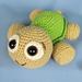 Baby Turtle Emma pattern