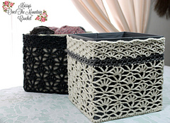 Over Brook Lace Storage Cover