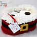 Santa Toilet Tissue Cover pattern