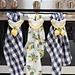 Lemon Farmhouse Towel Topper pattern