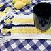 Lemon Farmhouse Mug Rug pattern