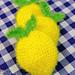 Lemon Farmhouse Scrubby pattern