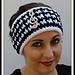 Houndstooth Check Headband pattern
