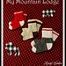 Child Lumberjack Slipper Socks pattern