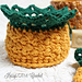 Welcome Home Pineapple Basket pattern