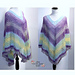 Mesh Over Brook Poncho pattern