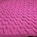 Crescents Baby Blanket pattern
