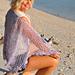 Lovers Key Lavender Knit Lace Shawl pattern