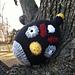 Angry Bird The Black Bomb Bird pattern