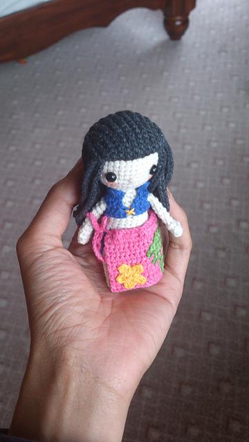 Crochet anime doll Miku Hatsune Amigurumi doll Crochet anime ... | 640x360