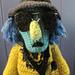 Zoot Muppet Inspired Crochet Pattern pattern