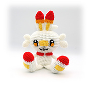 Scorbunny Pokemon Crochet Pattern