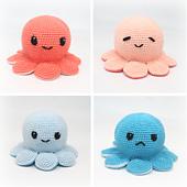 Crochet reversible octopus pattern