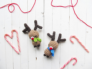 Rudolph the Red-Nosed Reindeer- Free Crochet Pattern | The Crochet ... | 240x320