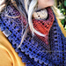 Autumn Walks Triangle Scarf pattern