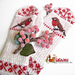 Red Berries and Robin pattern